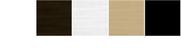 Screen Wall Colors - white, bronze, silver, champagne, and black